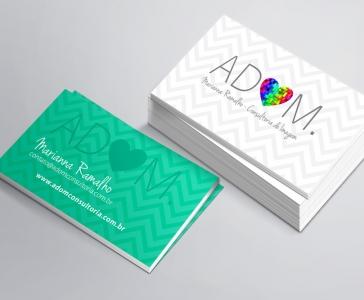 Cartão Adom Consultoria